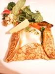 旬の味♪ 筍と菜の花のガレット GINZA kansei