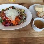 グッドモーニングカフェ  サラダランチ