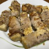 糖質オフおかず 高野豆腐の豚肉巻き