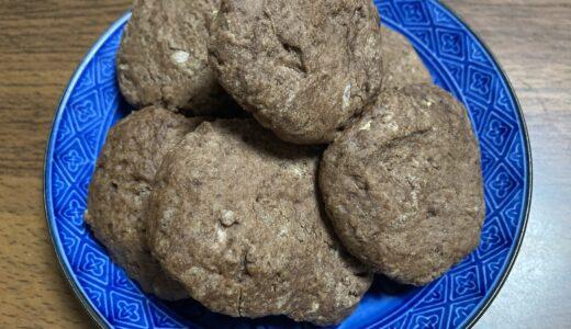 カントリーマアム風!? オリーブオイルで作るココアクッキー