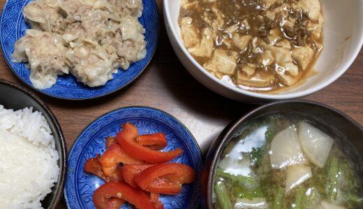 麻婆豆腐と焼売の中華定食の時のお野菜のおかずは何がいい?